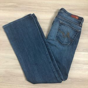 """Adriano Goldschmied """"the Angel"""" bootcut Jeans, 30R"""